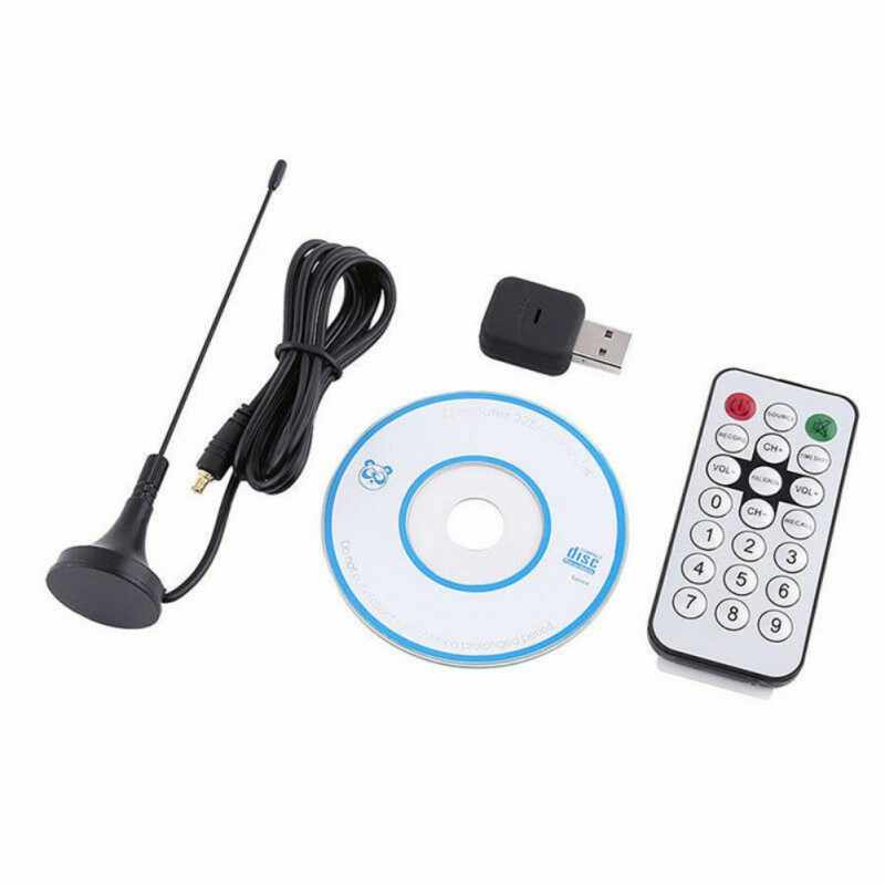Hochwertige Professionelle USB2.0 DVB-T + DAB + FM RTL2832 R820T2 SDR RTL-SDR Dongle Digital TV Tuner