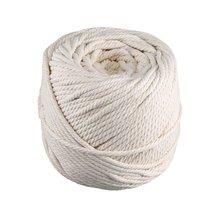 4 мм* 100 м Хлопковый Канат, связывающий веревку, Diy гобелены ручной работы, плетеный канат, пучок шнурок, натуральная прочность