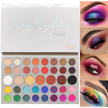 39 Colors Matte Shimmer Eyeshadow Palette Pigment Glitter Nude Colorful Lasting Waterproof Eye Shadow Cosmetic Maquiagem 2018 new glitter eyeshadow palette shimmer pigment 120 colors matte eye make up palette of shadow nude eyeshadow set cosmetic