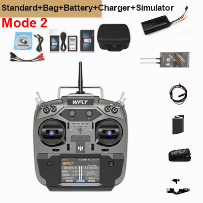 WFLY ET16 + RF209S + Bag + Battery + Charger + Simulator