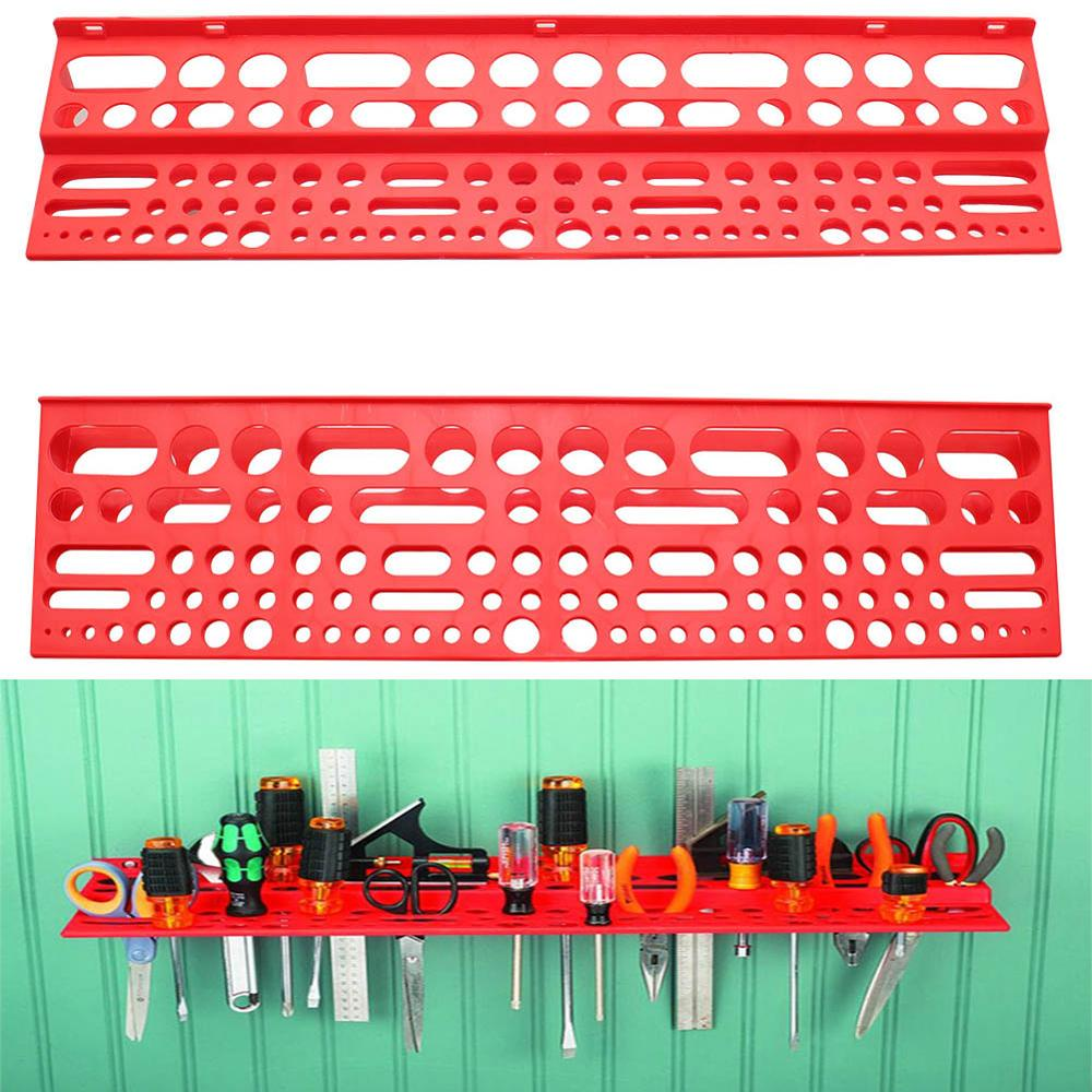Hardware Tools Screwdriver Wrench Tool Storage Box Hanging Wall Tool Box Classification Parts Box Workshop Storage Rack