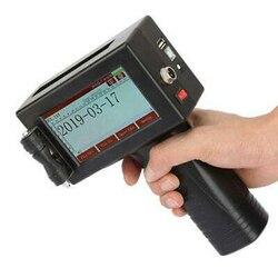 Ręczna drukarka atramentowa rozpuszczalnika do pojemnik na jedzenie puszki metalowe tłoczenie maszyna wtrysku tworzyw sztucznych