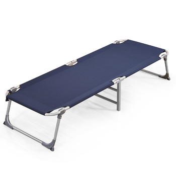 Office Lunch Break Folding Bed Single Bed Home Nap Bed Adult Simple Camp Bed Portable Hospital Accompanying Bed