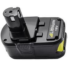 18V 4000MAh Li-Ion P108 P 108 Rechargeable Battery for Ryobi Battery RB18L40 P2000 P310 for BIW180 L30 стоимость