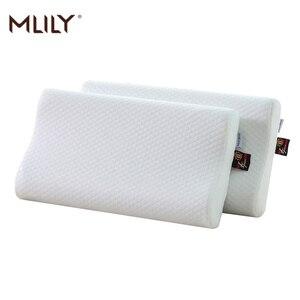 Mlily 2 шт подушка из пены с памятью охлаждающий гель гипоаллергенный эргономичный Certipur контур Манчестер Юнайтед парная подушка