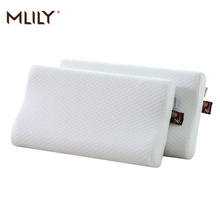 Pillow Memory-Foam Manchester Mlily Ergonomic Contour 2pcs Cooling-Gel United-Pair Hypoallergenic