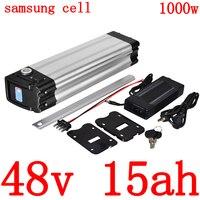 48V 15AH Lithium battery 48V 9AH 12AH 15AH 18AH Electric Bike Battery 48V 500W 750W 1000W Li-ion Ebike Battery use samsung cell
