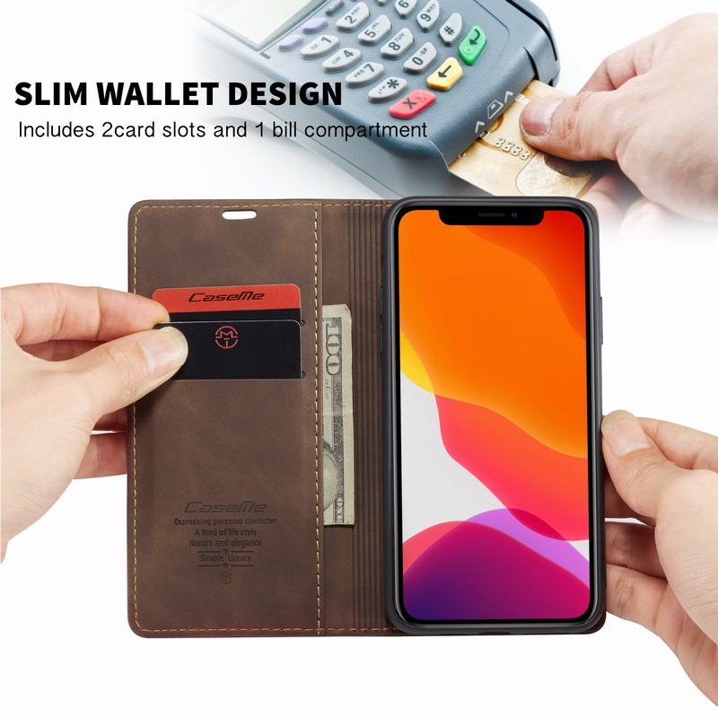 Leather Case for iPhone 11/11 Pro/11 Pro Max 1