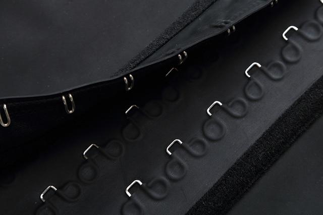 Women's Shapewear Extra Strong Latex Waist Trainer Workout  Hourglass Belt Waist Cincher Trimmer Long Torso Fajas 9 Steel Bone 5