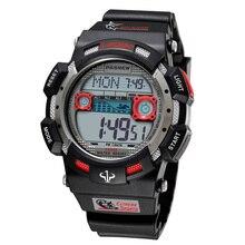 Luxury Brand PASNEW Watches Mens Digital Watches Fashion Spo