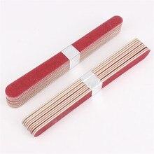 10 шт. профессиональные пилки для ногтей, полировальные акриловые буфер блока, маникюрные советы, салонные маникюрные УФ-гелевые пилка для полирования ногтей, пилочки для ногтей