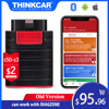 Old Version Thinkdiag full system OBD2 Diagnostic Tool Code Reader 15 Reset Services Can Work With Diahzone OBD2 Scanner tool