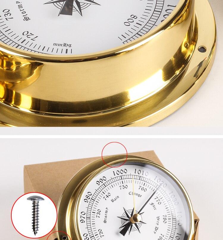barômetro temperatura higrômetro relógio e relógio tid