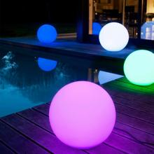Remote Control Garden Lawn Lights Ball Waterproof Christmas LED Balls Landscape illuminated Outdoor Holiday Lights Decoration rechargeable remote control garden ball lights waterproof lawn lamps led balls illuminated outdoor night lights decoration