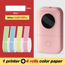 Imprimante thermique Portable sans fil pour étiquettes, Mini appareil de poche pour étiquette de prix, planificateur, fournitures scolaires, de bureau et de maison