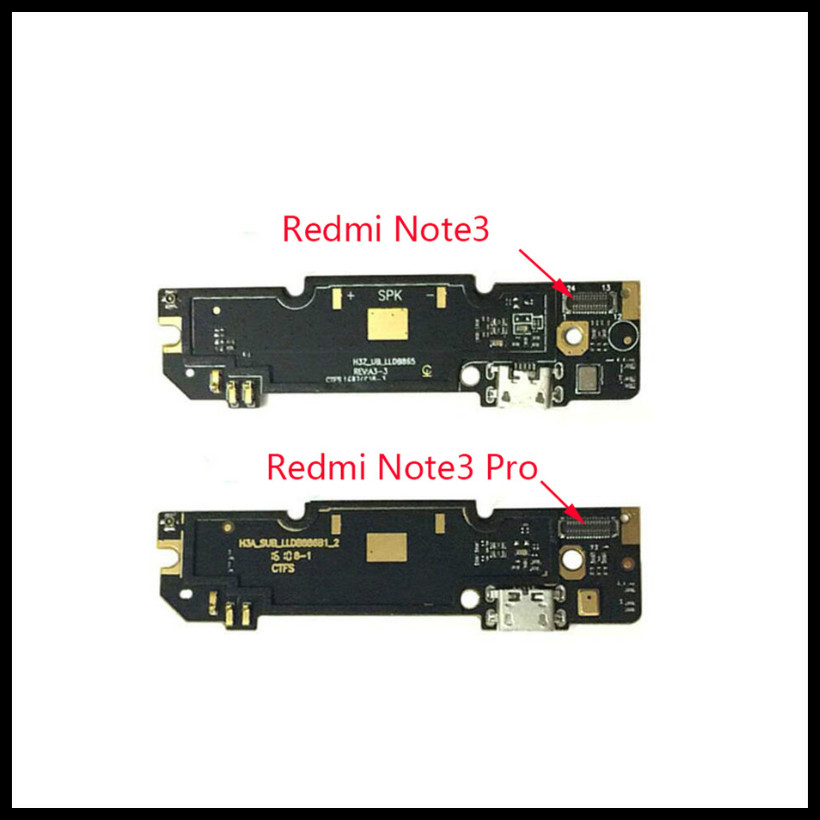 Perfect quality For <font><b>Xiaomi</b></font> <font><b>Redmi</b></font> Note <font><b>3</b></font> <font><b>Pro</b></font> <font><b>USB</b></font> Charging Port Board plug Flex Cable Connector Micro Microphone Module Parts image