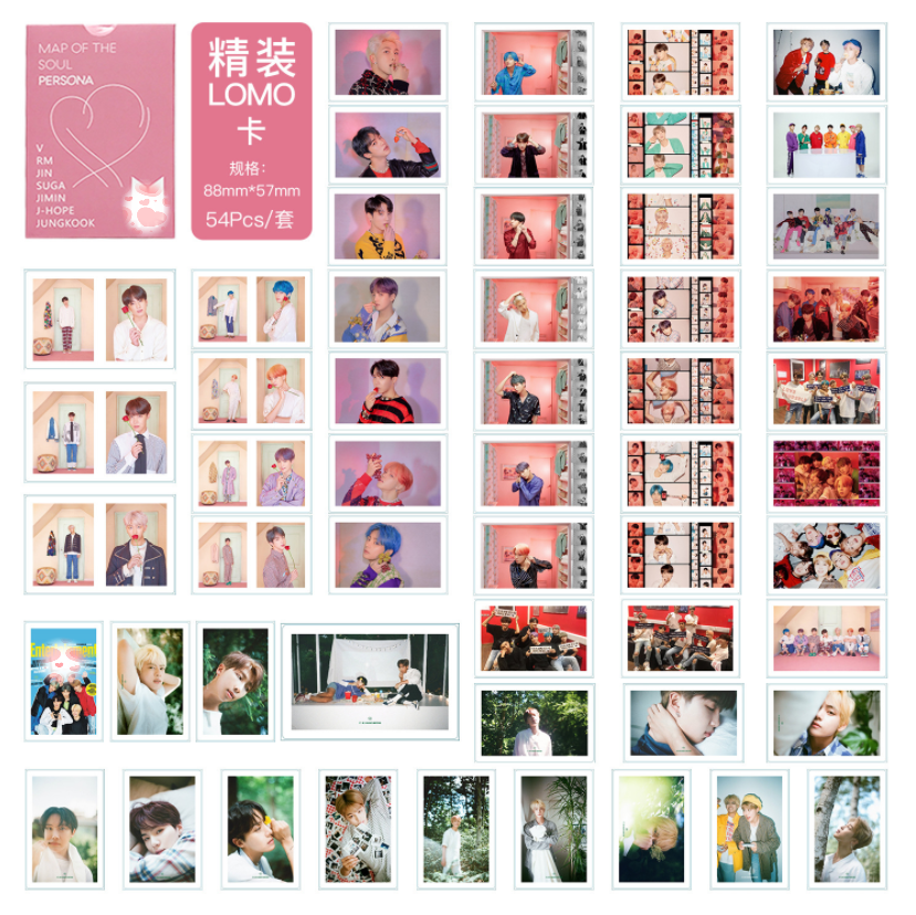 Kpop Kim Nam Jun Min Yun Ki Jin Jimin Kim Tae Hyung J-HOPE Jung Kook Lomo Card Photo Postcard Toy Gift