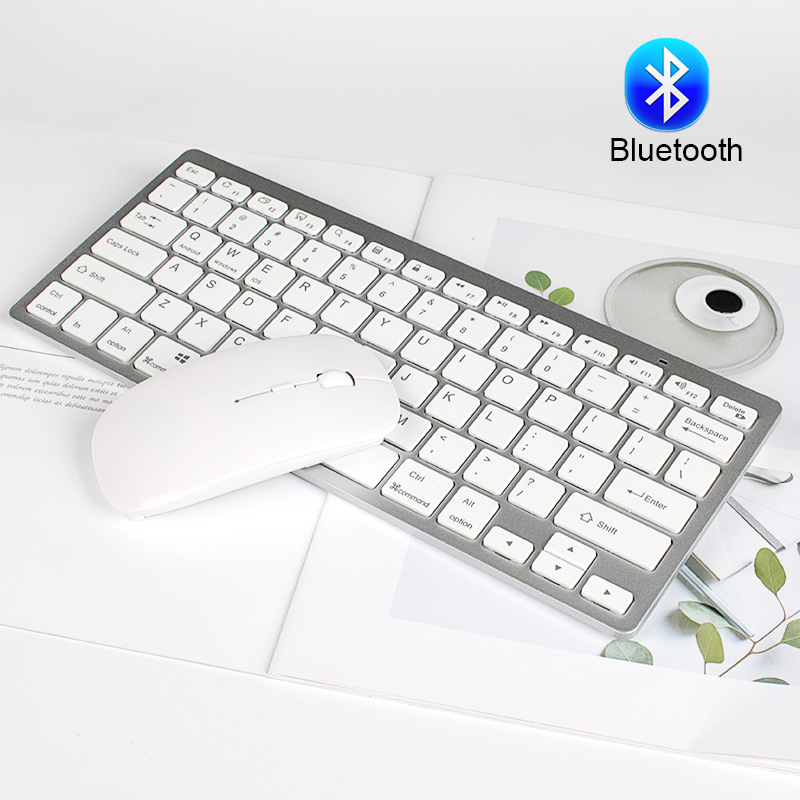 Bluetooth Wireless Keyboard And Mouse Set Mini Bluetooth Mouse Wireless Thin Keyboard Wireless Bluetooth For Windows Android Mac