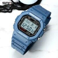 Mode Denim SANDA Sport männer Uhren G Stil LED Wasserdichte Militär Digitale Uhr Schock Widerstehen Uhr relogio masculino 339