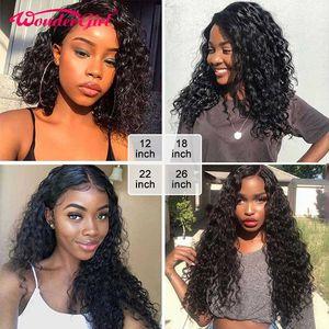 Image 2 - 28 30 นิ้ว 4 ชุดดิบอินเดียผม Water WAVE เปียกและหยัก Remy Hair EXTENSION # 1B Wonder GIRL