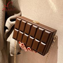 Vintage Box Shape Crossbody torby dla kobiet moda na ramię torebki i portmonetki luksusowy projektant kobiet kopertówka Pu skóra tanie tanio ENJOININ Torby na ramię Na ramię i torby crossbody CN (pochodzenie) klamerka HARD Otwarta kieszeń 2021-1 POLIESTER Versatile