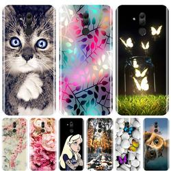 На Алиэкспресс купить чехол для смартфона phone case for huawei mate rs 9 10 20 20x 30 lite soft silicone tpu fashion cute animals back cover for huawei mate 9 20 pro