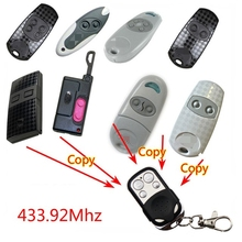 Copy CAME TOP432NA Duplicator 433.92 mhz remote control Universal Garage Door Gate Fob Remote Cloning 433mhz Transmitter copy came top432na top 432na 432ee 432ev universal cloning key fob remote control duplicator cloning for garage doors 433 92mhz