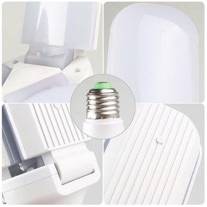 Image 4 - 4 Lá LED E27 Bóng Đèn Đèn Ốp Trần Siêu độ sáng 45W 60W Góc Điều Chỉnh Đèn Ốp Trần Cho phòng Ngủ Phòng Khách Nhà Để Xe