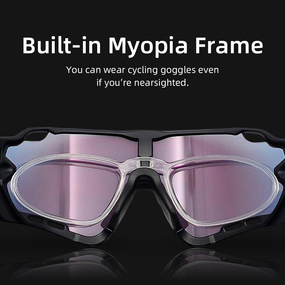 Cycling Sunglasses Men Women MTB Bicycle Bike eyewear goggles Photochromic Glasses Sunglasses UV400 polarized cycling glasses 4