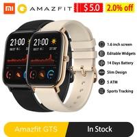 Amazfit GTS Smart Watch Global Version Men Women 5ATM Waterproof GPS Tracker NFC BT5.0 Smartwatch for Xiaomi Android Phone IOS