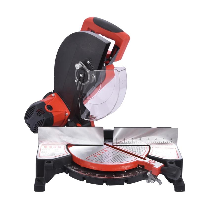S9255 1 1850W 220V Aluminum Precise Sawing Machine Belt Type Multi Purpose Wood Aluminum Profile Cutting Machine Power Tools|Electric Saws| - AliExpress