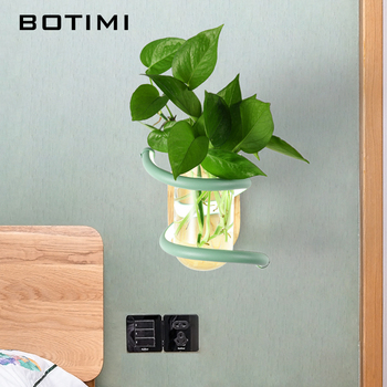 BOTIMI Modern Home Decor LED Wall Lamp For Living Room Nordic Style Wall Mounted Bedside Lighting Excludes any Plants