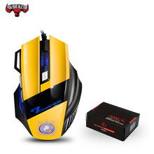 Professional Wired Gaming Mouse 7 Button LED Optical USB Computer mice for  dota pubg professional wired gaming mouse 7 button led optical usb computer mice for dota pubg