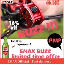 Dron de carreras oficial EMAX BUZZ Freestyle, Motor BNF 1700kv /2400kv con FrSky XM + receptor, cámara Quadcopte FPV para Avión Rc