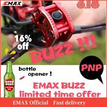 Oficial emax buzz freestyle racing drone bnf 1700kv /2400kv motor com frsky xm + receptor quadcopte fpv câmera para rc avião