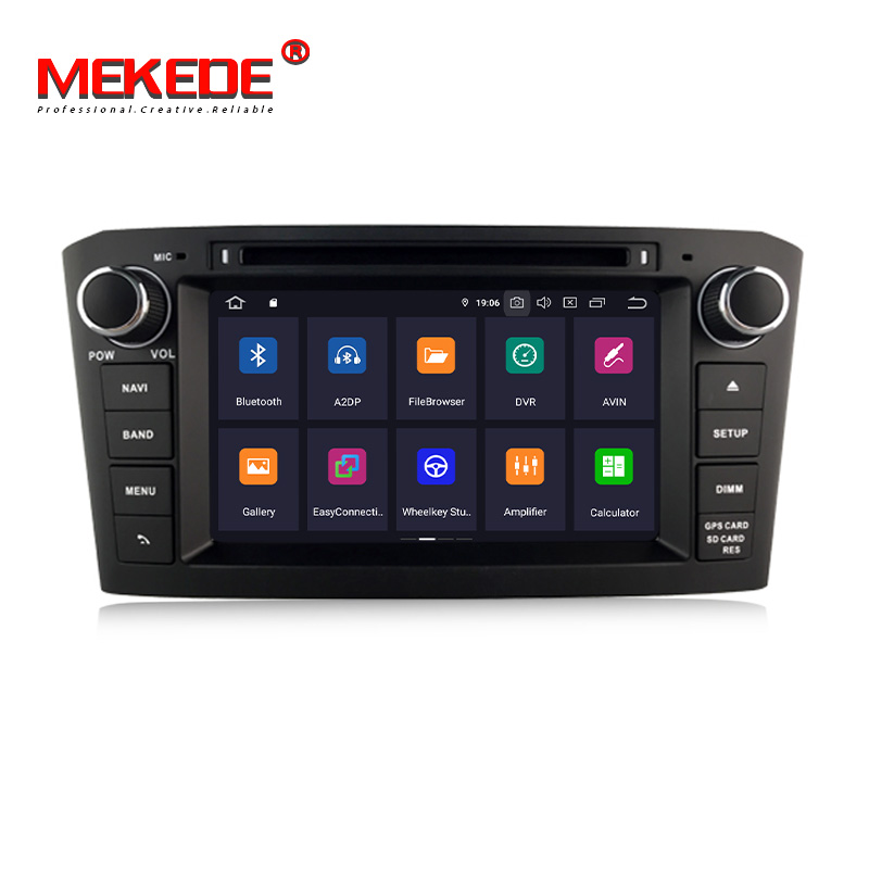 New product sales!<font><b>android</b></font> 9.0 Car gps navigation DVD player for <font><b>Toyota</b></font> Avensis/<font><b>T25</b></font> 2003-2008 4GB RAM 64GB ROM radio navi image