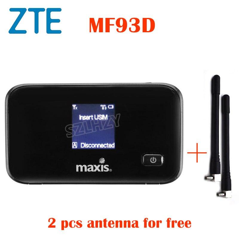 Desbloqueado ZTE MF93D HUAWEI E5573 4G LTE Router inalámbrico Mifi Mobile Hotspot bolsillo 4G/módem 3G con ranura para tarjeta SIM PK WD670 MF90