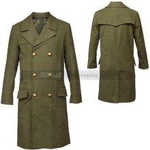 Зеленое пальто Доктор Кто 11 й Мэтт Смит