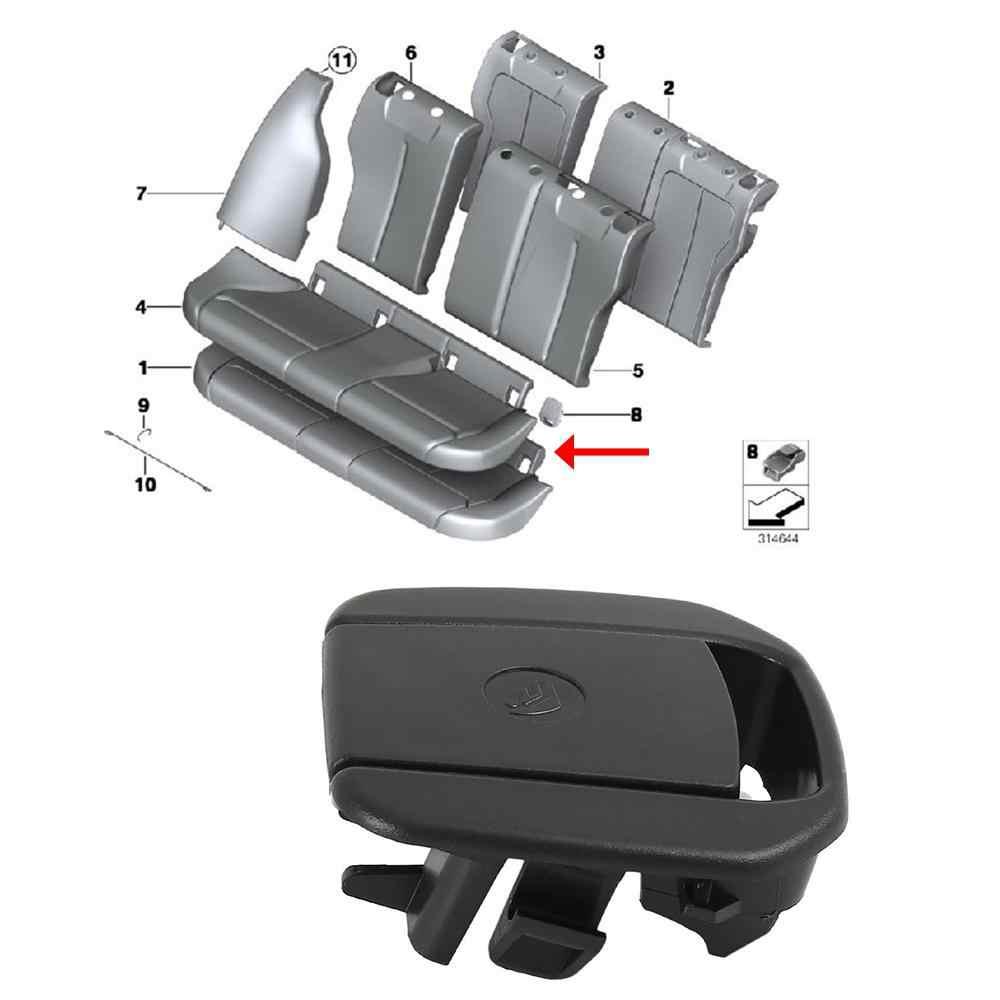 รถเด็กความปลอดภัยที่นั่งเข็มขัด Anchor 52207319686 สำหรับ BMW เข็มขัดนิรภัย Anchor ฝาครอบรถยนต์