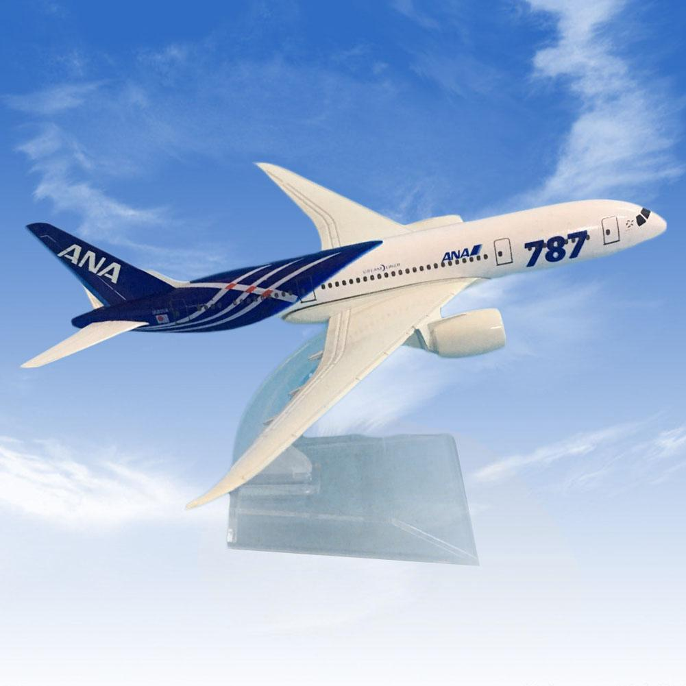 1/400 Japan Air ANA Airlines Boeing B787-8 Diecast Airplane Plane Model Toy Gift
