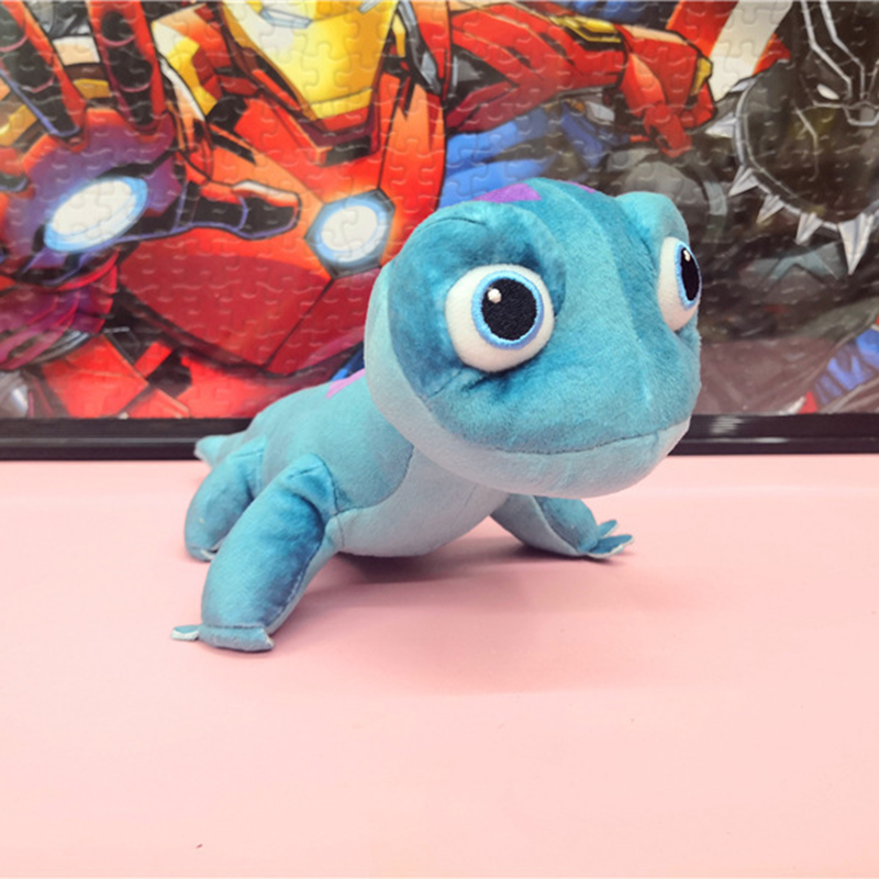 New Cute Blue Salamanders Stuffed Plush Toys Cute Soft Lizard  Plush Dolls Kawaii Christmas Gifts For Kids