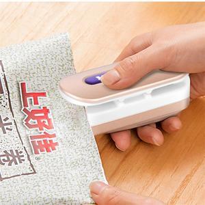 Image 2 - 7 kolor przenośny Mini uszczelniania maszyna do domu zgrzewarka Capper przechowywania żywności na torby plastikowe pakiet Mini gadżety