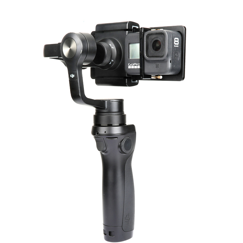 Adapter Switch Mount Plate For Hero 5 4 3 DJI Osmo Mobile Gimbal Smooth Uf