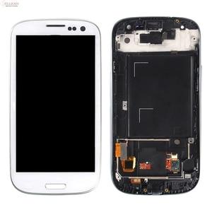 Image 5 - Catteny i9301 i9305 Lcd ekran Samsung Galaxy S3 Lcd i9300 ekran dokunmatik ekran Digitizer meclisi + çerçeve + homebutton