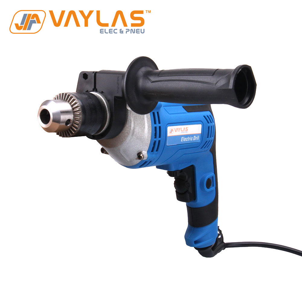 710W corded electric drill powered drill tool 1.0 to 13mm chuck various speed control 220V 50Hz