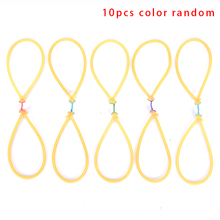 10Pcs Elastic Bungee Fishing Rubber Band For Fishing Shooting Slingshot Catapult Replacement Use On Fishing Harppon Outdoor
