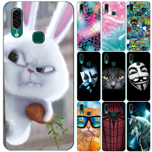 GUCOON Silicone Cover for Leagoo S11 M12 M13 Case Soft TPU Protective Phone Back Case Cartoon Wolf Rose Flowers Bumper Shel(China)