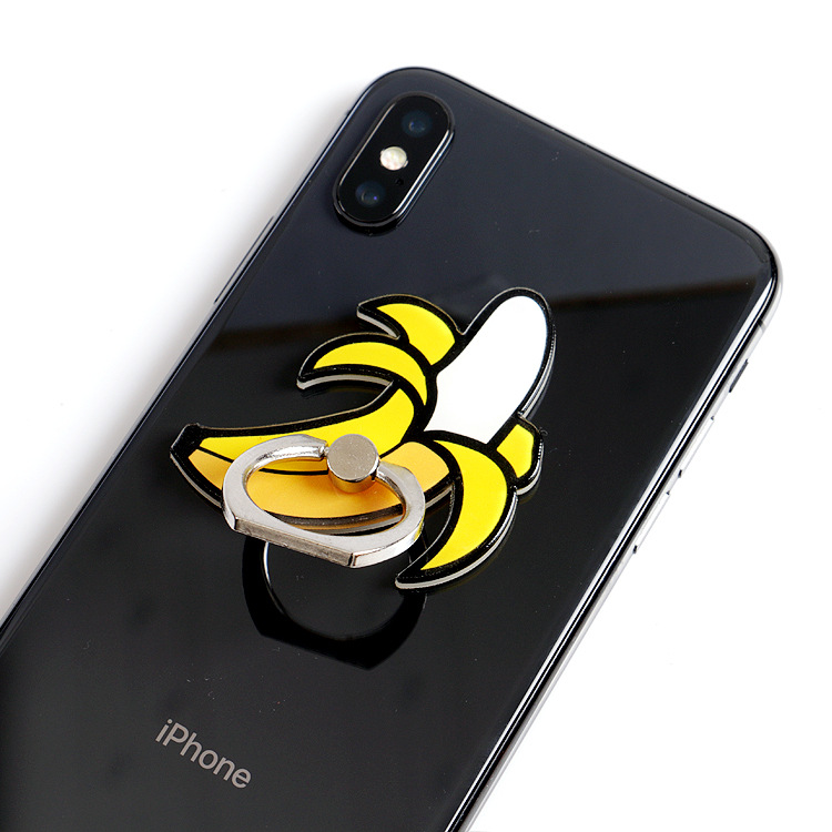 Cartoon Cute Finger Grip Phone Holder Cute Girl Finger Grip Ring Holder For Mobile Phone All Smart Phone