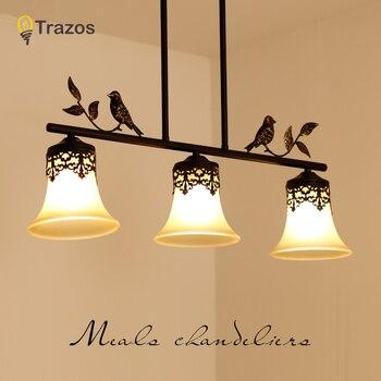 TRAZOS 2020 Painting  Metal bird Pendant Light Iron Art Hanglamp Dinning Room Restaurant Hotel Cafe Bar Bedroom Hanging Light