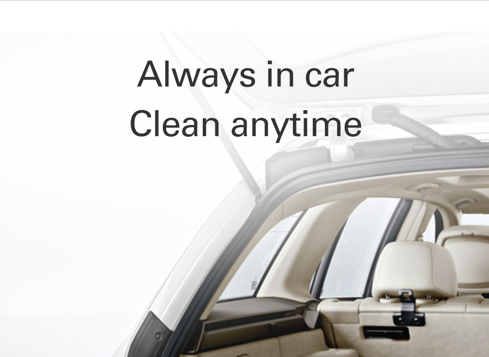 Clean anytime with WORX